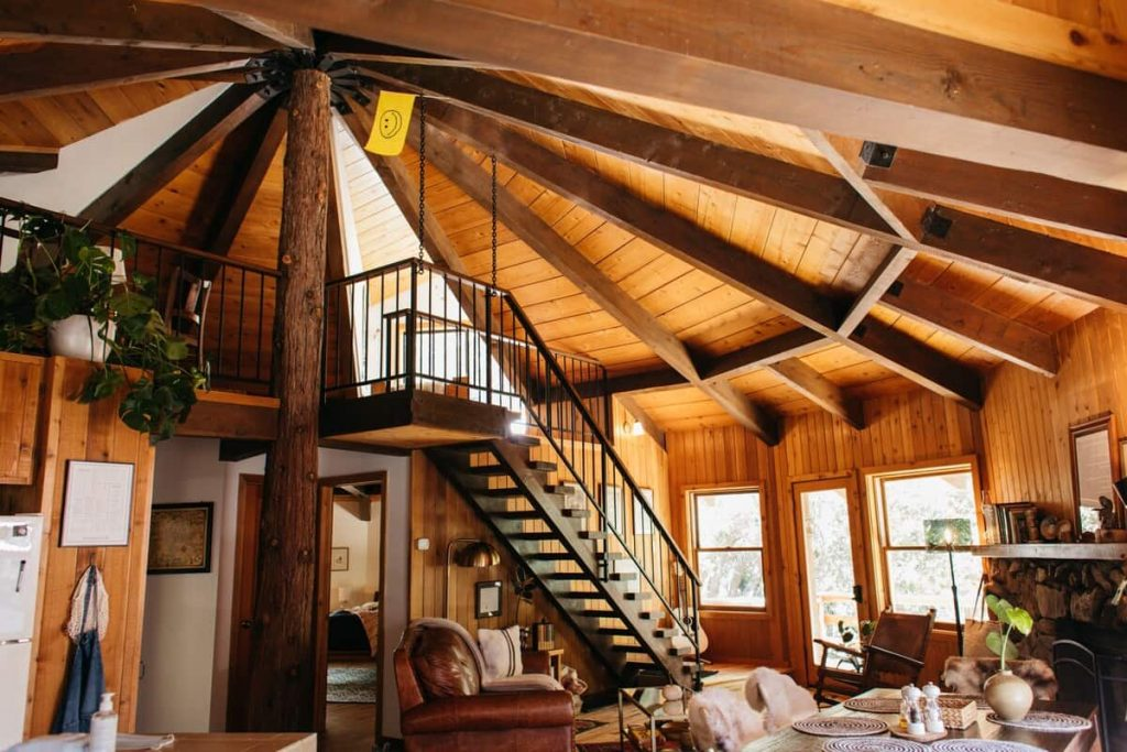 Best Idyllwild Cabin for Families The Fox And Leopard Treehouse