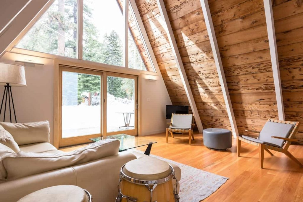Dazzling Chalet By Sunnyside Airbnb Lake Tahoe Cabin Rental
