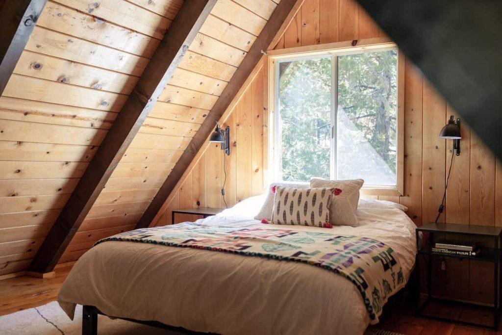 Mountain Modern Idyllwild A-Frame Cabin