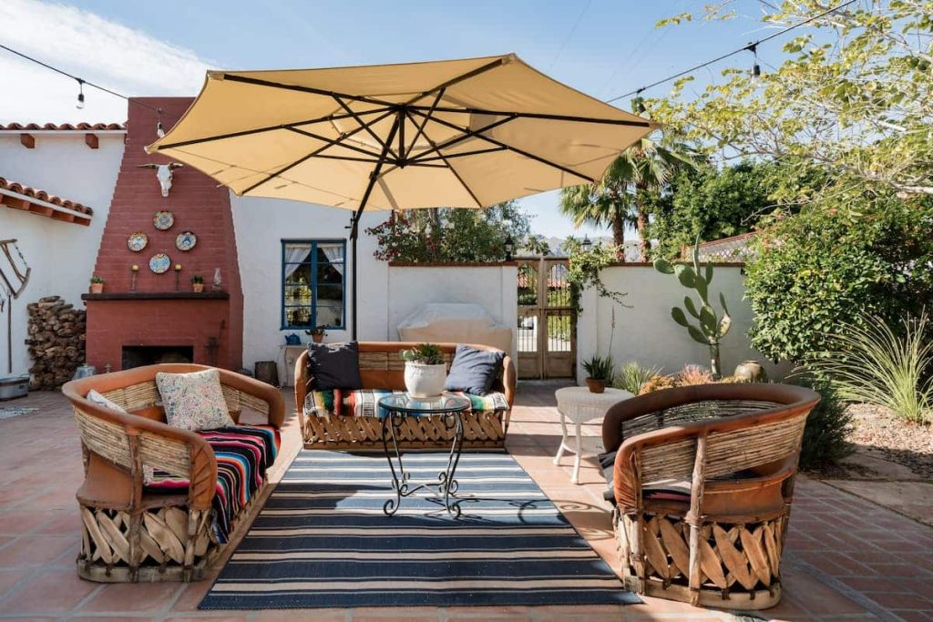 Spanish-Style Home with Saltwater Pool Airbnb Palm Springs