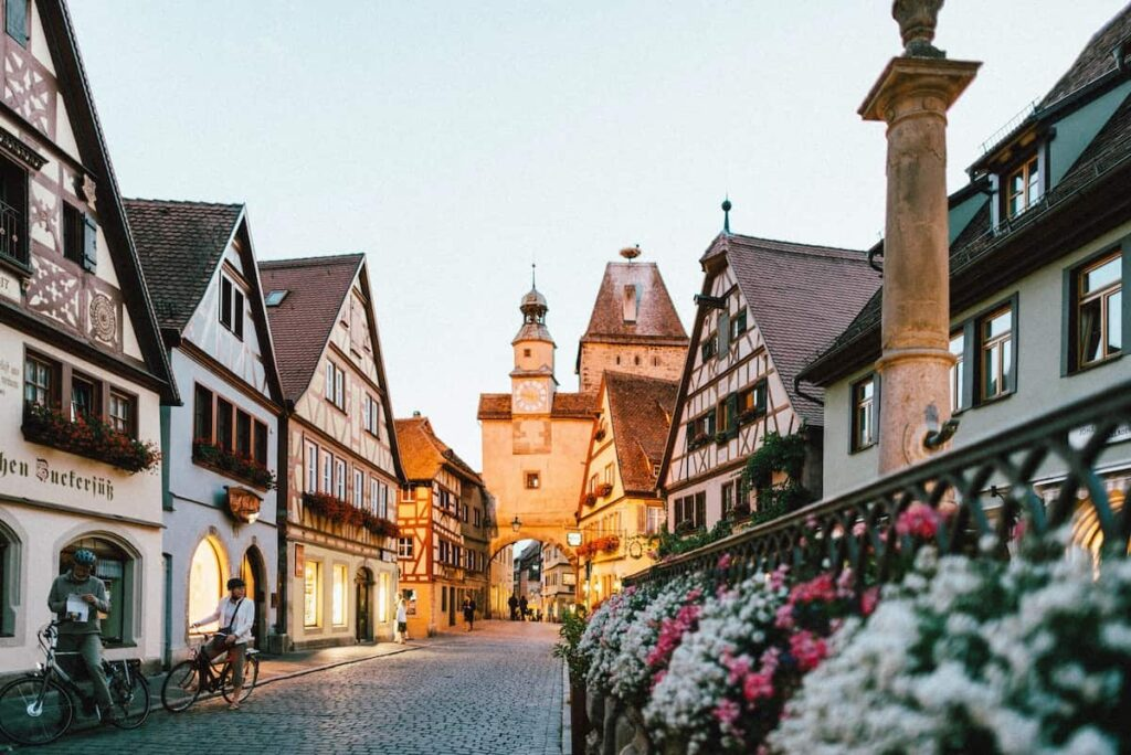 Say Thank You in German Town Germany